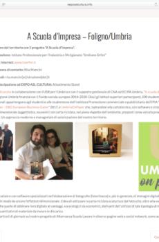 """Progetto """"A Scuola d'Impresa"""" dell'IPSIA Orfini di Foligno"""