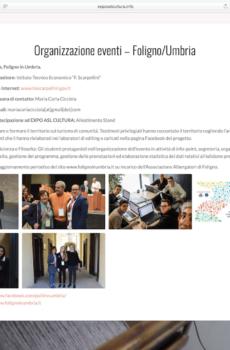 """Progetto ASL """"Organizzazione eventi - Foligno"""""""