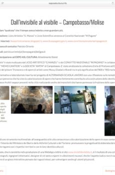 Progetto di ASL del Convitto Nazionale Mario Pagano e del Liceo Artistico Manzù di Campobasso