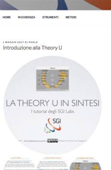 La Theory U in sintesi